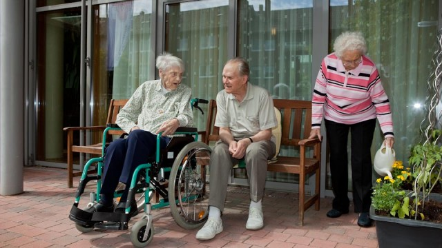Leben im Seniorenzentrum Am Eichendorffpark (Foto: SMMP/Pohl)