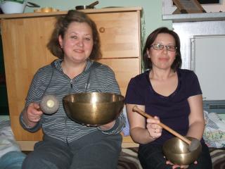 Irene Sperling und Tanja Stoll